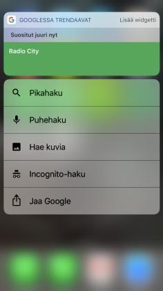 Google iOS