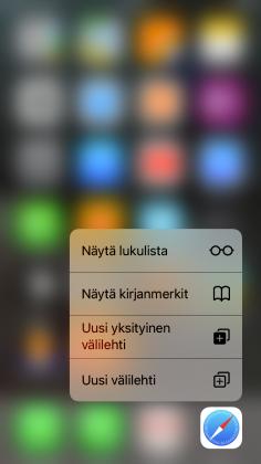 Safari yksityinen selaus