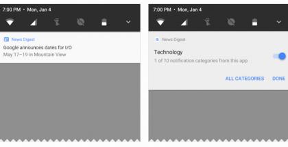 Ilmoitukset uudistuvat taas Android O:ssa.