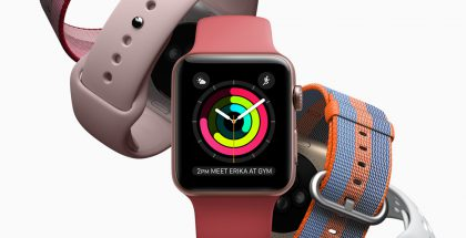 Nykyinen Apple Watch Series 2.