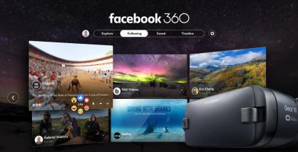 Facebook 360 tulee Gear VR:lle.