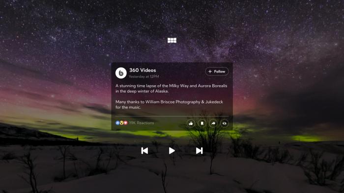 360-julkaisuista voi katsoa lisätietoja tai niihin reagoida tai niitä jakaa.