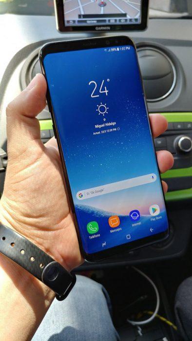 Galaxy S8+ AndroidMX:n kuvassa.