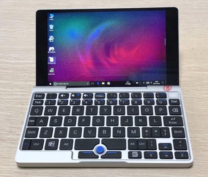 GPD:n Pocket on suureen taskuun mahtuva Windows 10 -tietokone.