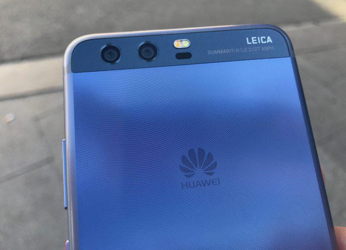 Huawei on tehnyt Leican kanssa yhteistyötä jo vuosien ajan. Kuvassa Huawei P10.