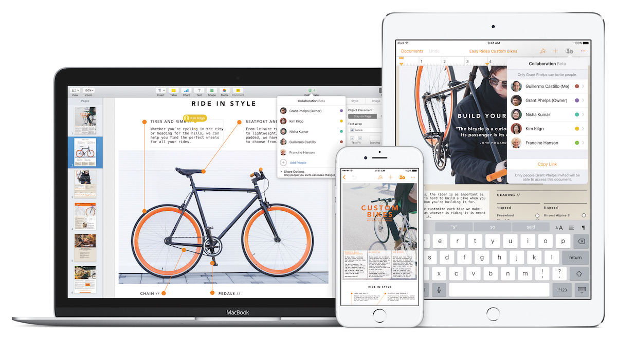 Apple iWork Pages