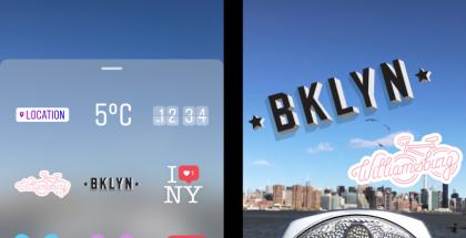 Instagramin geotarra Brooklynissa, New Yorkissa.