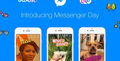 Facebook lanseeraa nyt Messenger Dayn koko maailmalle.