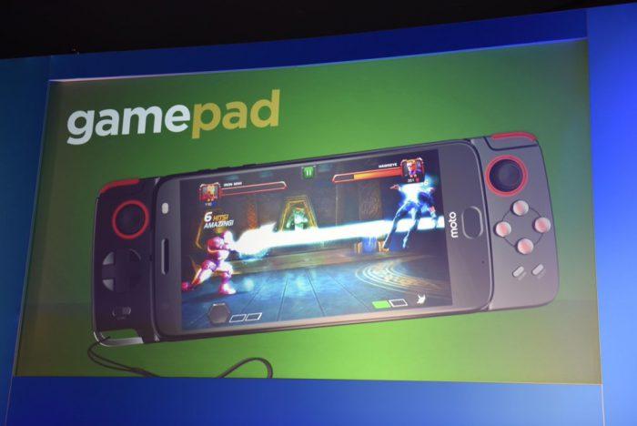 Uusi vuoden 2017 Moto Z nähtiin jo Gamepadin esittelykuvassa.