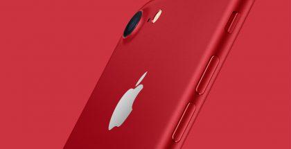 Punaisen PRODUCT(RED) iPhone 7 ja iPhone 7 Plussan myynti päättyi jo Applen omassa verkkokaupassa.