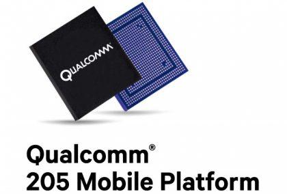 Qualcomm 205 Mobile Platform.