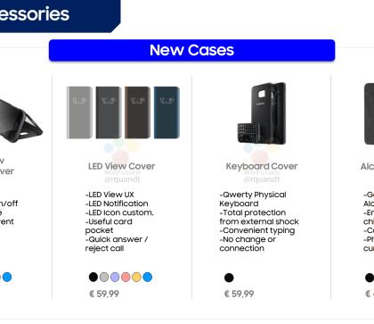 Galaxy S8 saa hurjasti erilaisia suojakuoria Samsungilta – mukana myös erikoisempia ratkaisuja