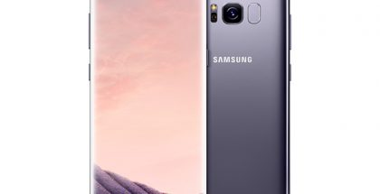 Samsung Galaxy S8 Orchid Gray.