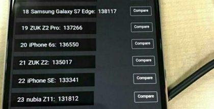 Snapdragon 660 saa yli 105 000 pistettä AnTuTu-suorituskykytestissä.