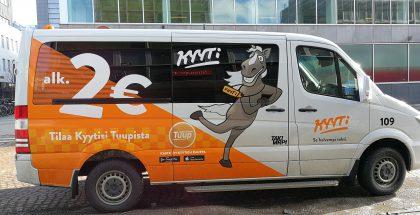 Kyyti-taksi Oulussa.