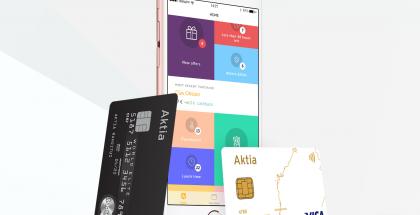Wrapp toimii nyt myös Aktian korttien kanssa.