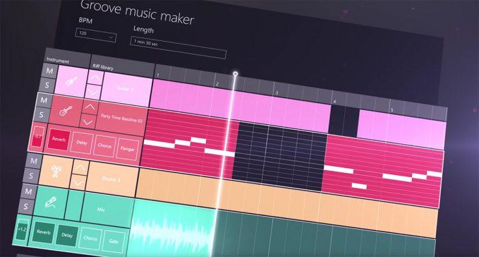 Groove Music Maker.