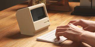 Tämä teline tekee iPhonesta vanhan Macintoshin näköisen – ihan söötti vai täysin turha?