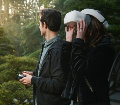 DJI Goggles -lasit mahdollistavat drone-kokemuksen uudella tavalla.