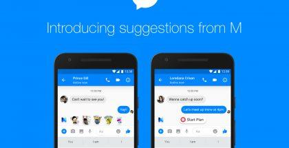 Facebook Messenger saa suosituksia M:ltä.
