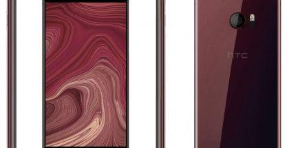 Väitetyt vuotaneet kuvat HTC U:sta. Reunoilta ei enää löydy painikkeita.