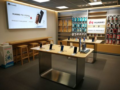 Huawein Tampereen Service Center.