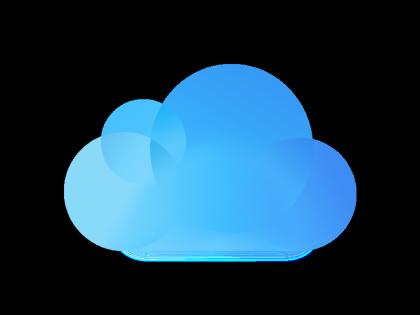 iCloud logo.