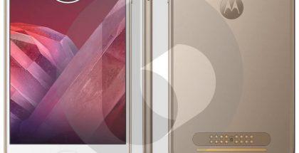 Moto Z2 Play, TechnoBuffalon vuotama lehdistökuva.