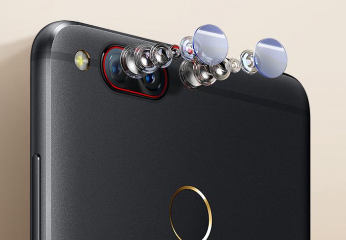 nubia Z17 minissä on kaksoiskamera, jotka ovat selvästi yleistymässä nyt älypuhelimissa.