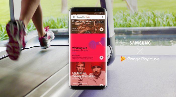 Google Play Musiikki tulee oletukseksi Samsungin laitteisiin.