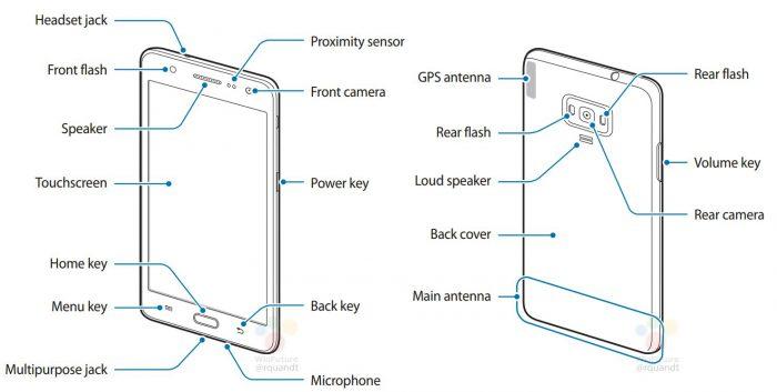 Samsung Z4. WinFuture.den kuva ohjekirjasta.