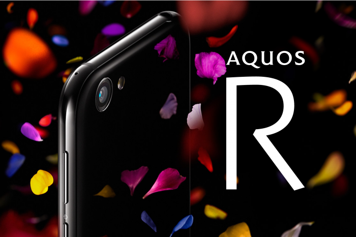 Sharp Aquos R tulee 22,6 megapikselin kameralla.