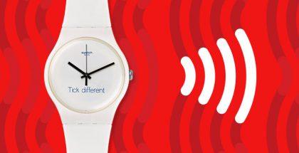 Swatch markkinoi nyt Tick Different -lauseella.