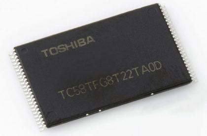 Toshiban muistipiiri.