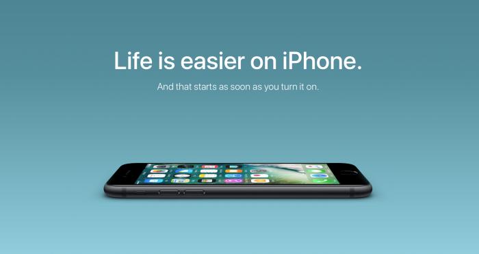 Apple Switch iPhone