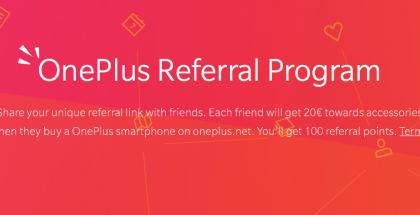 OnePlus referral suositteluohjelma
