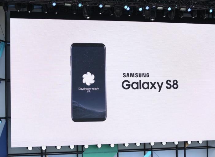 Samsung Galaxy S8 saa Daydream-tuen.