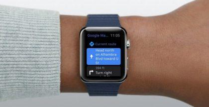 Google Maps Apple Watchissa.