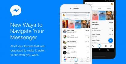 Facebook Messengerin kotinäkymä uudistuu.