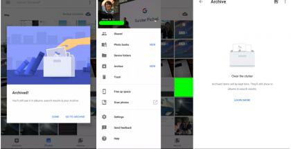 Arkistointi on nyt mahdollista Google Kuvissakin.