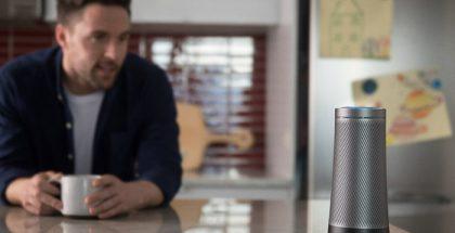Harman Kardon Invoke. Myös tämä Microsoftin Cortana-virtuaaliavustajan sisältävä älykaiutin lukeutuu jo Samsungin repertuaariin sen ostettua Harmanin. Tulossa on kuitenkin oma, omalla Bixbyllä varustettu laite.