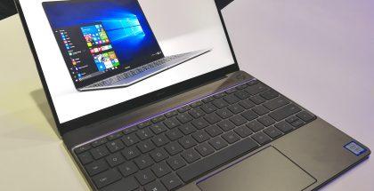 Huawei MateBook X on päivittymässä uudella tekniikalla.