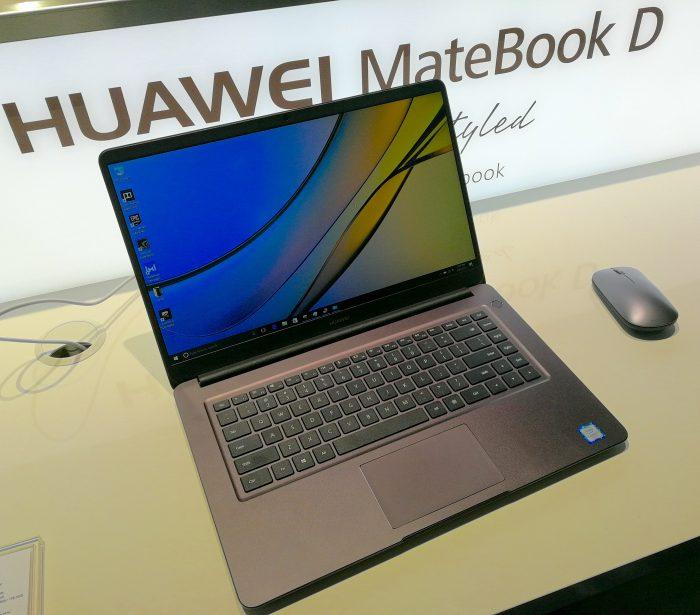 Valitettavasti Huawein toinen uusi perinteinen läppäri MateBook D ei ole tulossa Suomessa myyntiin.