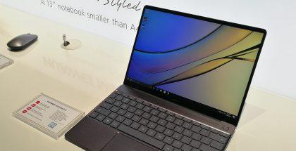 Huawein aiempi MateBook X.