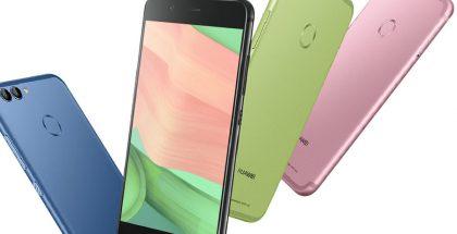 Huawein Nova 2 -puhelimet tulevat useissa eri väreissä.