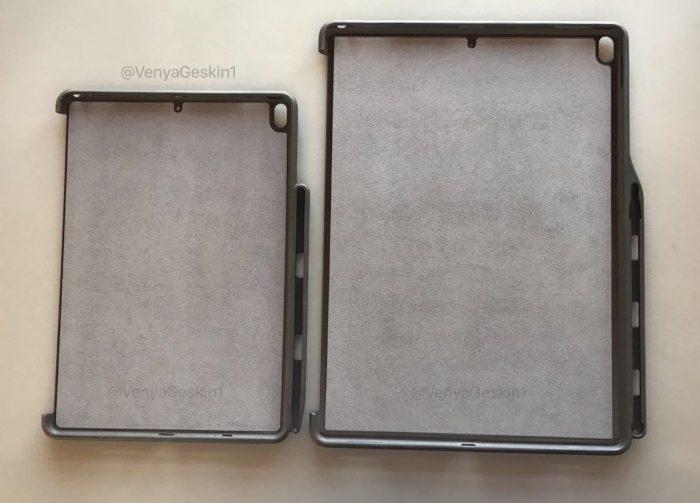 Benjamin Geskinin twiittaamat kuvat uusien iPad Pron kuorista paljastavat myös mikrofonien sijainnit.