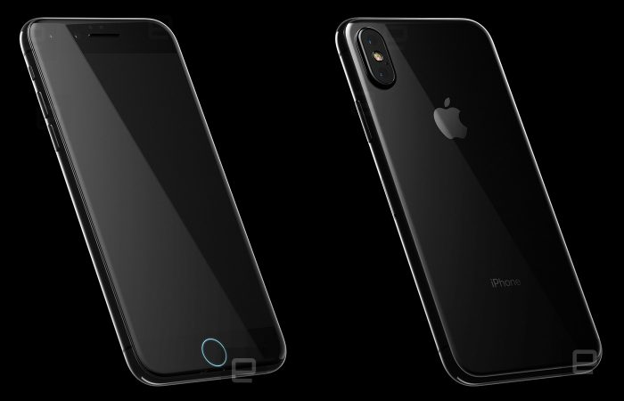 Tuleva iPhone Engadgetin julkaisemissa kuvissa.