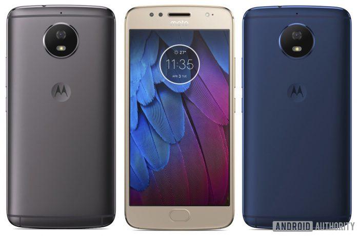Moto G5S, Android Authorityn vuotamassa kuvassa.