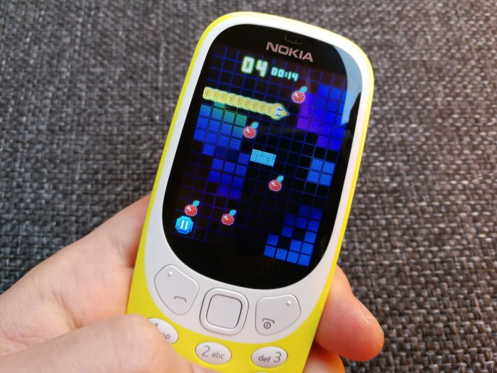 Snake Nokia 3310:ssä.