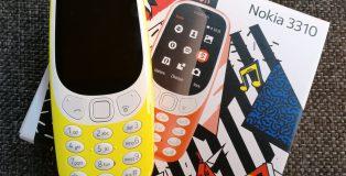 Uusi 3310 on värikäs tapaus.
